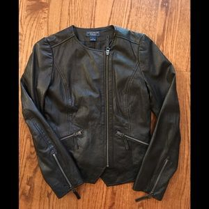 Genuine leather jacket from Lucky Brand Collection